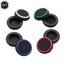 4 pcs Silicone Analog Thumb Stick Grips Cover for PS4 PlayStation 4 Pro Slim for PS3 Controller Thumbstick Caps for Xbox 360 One(China)
