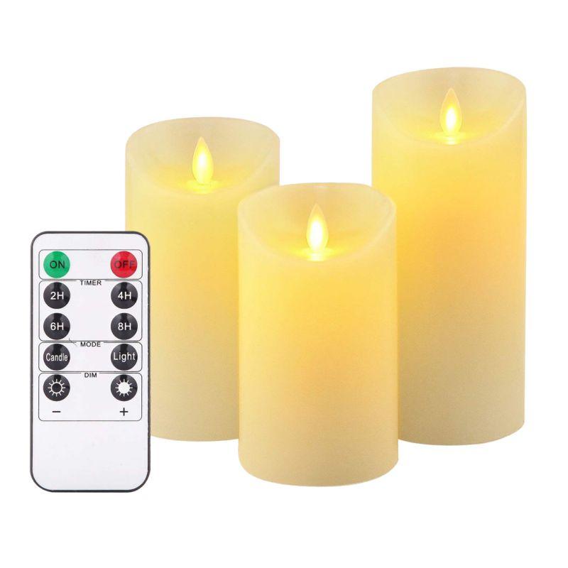 LED electrónico velas sin llama luces de velas a batería fiesta boda cumpleaños Festival romántico regalo de San Valentín - 6