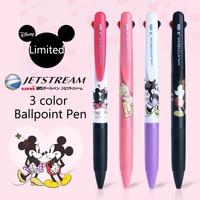 Uni Трехцветная шариковая ручка многоцелевая ручка SXE3-504D Ограниченная серия Дисней мультфильм масляная ручка 0,5 мм