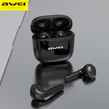 Awei Bluetooth 5.0 Headphones HiFi Sound TWS Earphone Touch Control 600mAh Charg