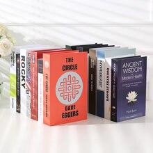 Поддельные Украшения для книг креативное искусственное украшение