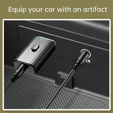 Transmitter Mp3-Player Audio-Receiver Bluetooth Music-Adapter Stereo Wireless AUX Mini