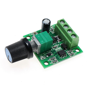 Miniature PWM Speed Controller DC1.8-12V DC Motor 0~100% Adjustable Drive Module Input 2A PWM DC Motor Speed Regulator hot sale dc 12 48v 400w aluminum alloy cnc spindle motor er11 mach3 pwm speed controller mount 3 175mm
