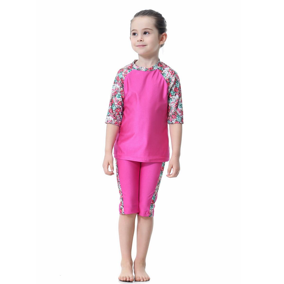 Muslim Hui Nationality GIRL'S Swimsuit Conservative Split Type Swimming Suit, H2006, AliExpress EBay Amazon Hot Selling