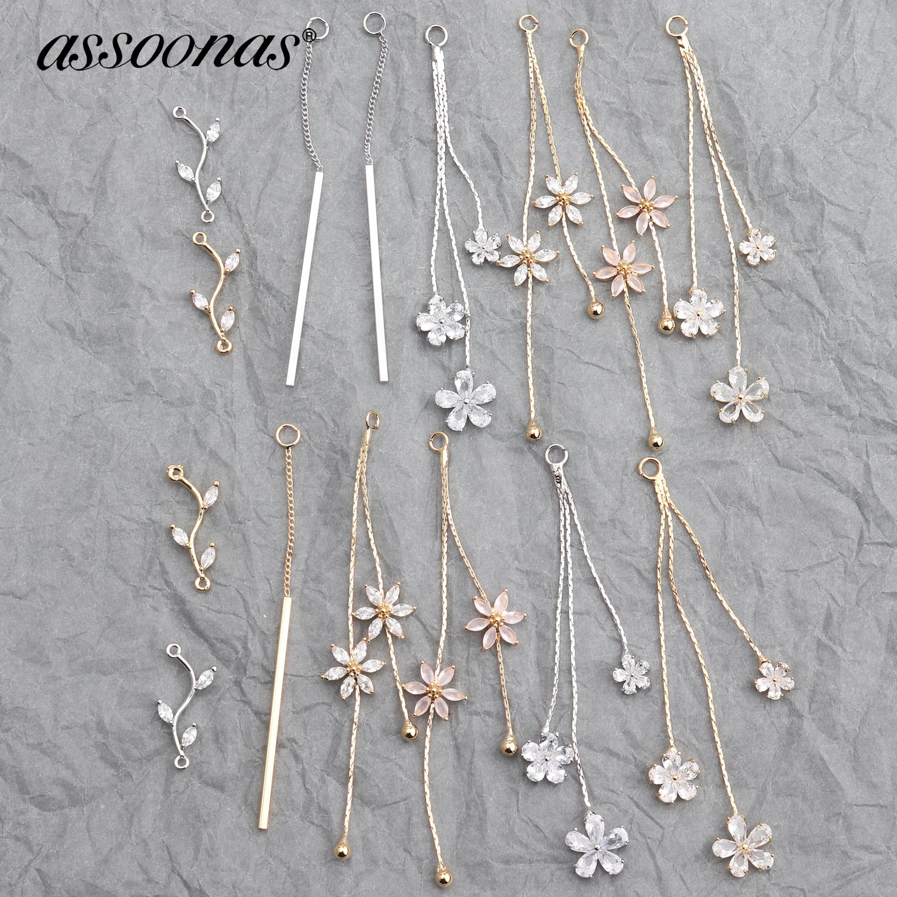 Assoonas M579,jewelry Accessories,earrings Stud,metal Jewelry,hand Made,jewelry Findings,jewelry Making,diy Earrings,10pcs/lot