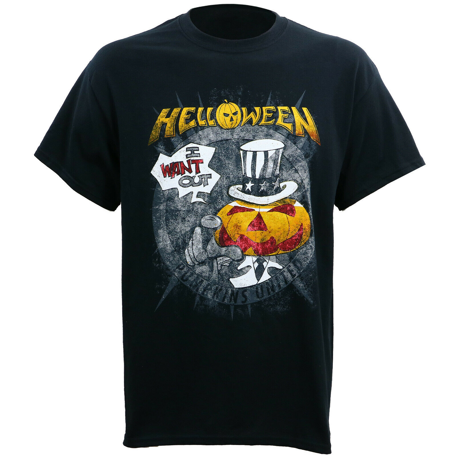 Authentic HELLOWEEN I Want Out Tour T-Shirt S-3XL NEW
