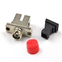 цена на SC-FC Optical Fiber Coupler, SC-FC Multimode Single mode Simplex Fiber Optic Adapter, 50PC/Lot