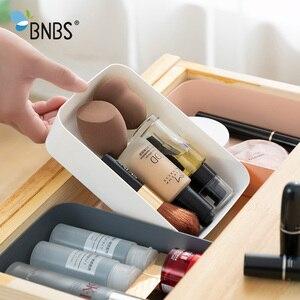 Image 1 - Ящик для хранения косметики, разделители для ящиков, органайзер для макияжа, пластиковые ящики, настольный канцелярский ящик для хранения данных и кабелей