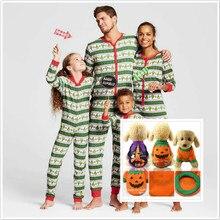 Рождественская Пижама; одежда для всей семьи; зимняя хлопковая одежда с длинными рукавами для папы, мамы, детей, собаки; Одинаковая одежда для семьи