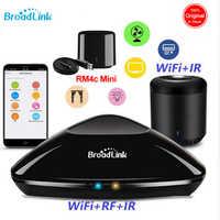 Broadlink RM PRO + RM33 RM Mini 3 RM4C Mini domotique intelligente WiFi + IR + RF télécommande universelle fonctionne avec Alexa Google
