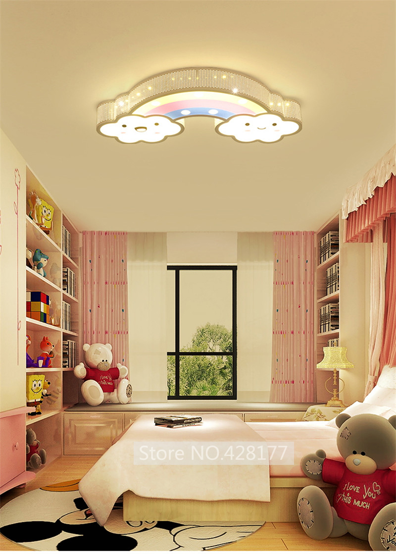 rainbow ceiling light (5-1)