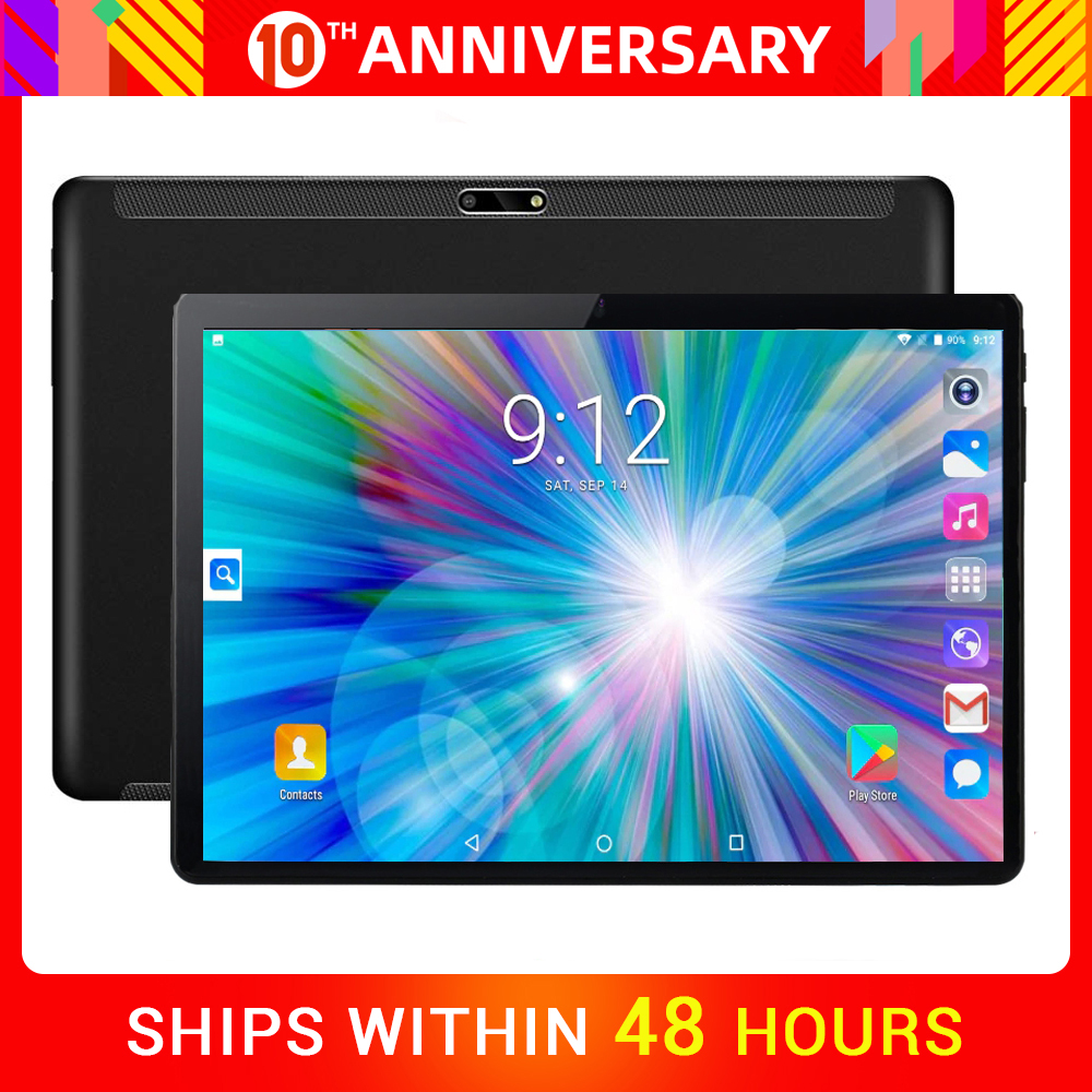 10inch Tablet Wifi Quad-Core Super-Tempered Android-7.0 with OS PC 32GB Free-Gifts 2GB-RAM title=