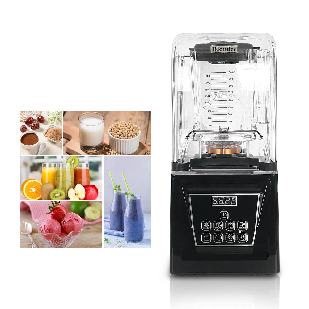 ITOP Big Power 2200W 2L Smoothie Blender Commercial Professional Blender Juicer Food Processor With Stainless Steel Blade 220V