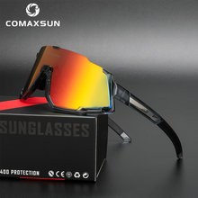 Comaxsun поляризационные 3 объектива велосипедные очки дорожные