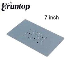1 قطعة الحرارة مقاومة 180 مللي متر x 110 مللي متر أو 290 مللي متر x 160 مللي متر السيليكون سجادة ضد الإنزلاق ل 7 بوصة أو 14 بوصة زجاج مفرّغ شاشة فاصل