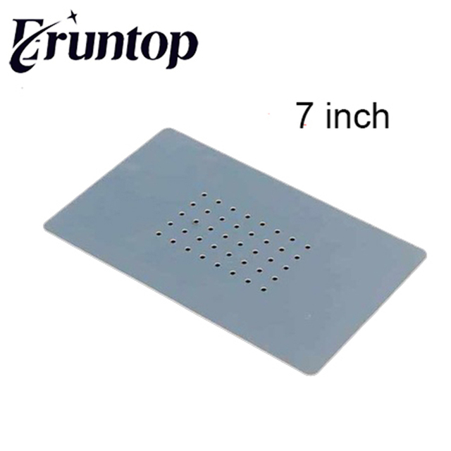 1pcs Heat Resistant 180mmx110mm or 290mmx160mm Silicon Non Slip Mat for 7 inch  or 14inch Vacuum Glass Screen Separator