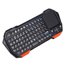 лучшая цена IS11-BT05 Mini Bluetooth Keyboard with Touchpad Handheld backlight for Smart TV Projector Compatible with Android iOS Windows
