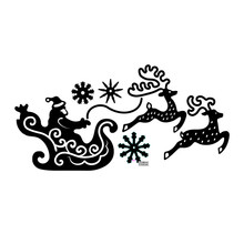 Naifumodo Santa Claus Metal Cutting Dies New 2019 for Card Making Scrapbooking Embossing Cuts Stencil Craft Christmas