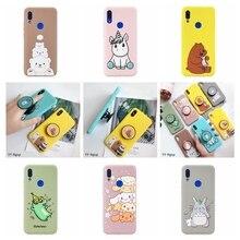 Redmi Note 7 Case etui Xiaomi 5 6 Pro Kawaii Silicone Cover on for Funda Xiomi Phone Holder