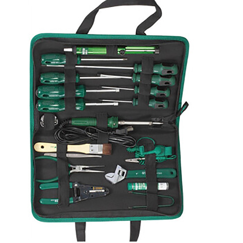 SATA 03770 For Tool (set) 19пр. For Electrical work, case. sata 04110 for tool set 19пр combo vehicle gen case