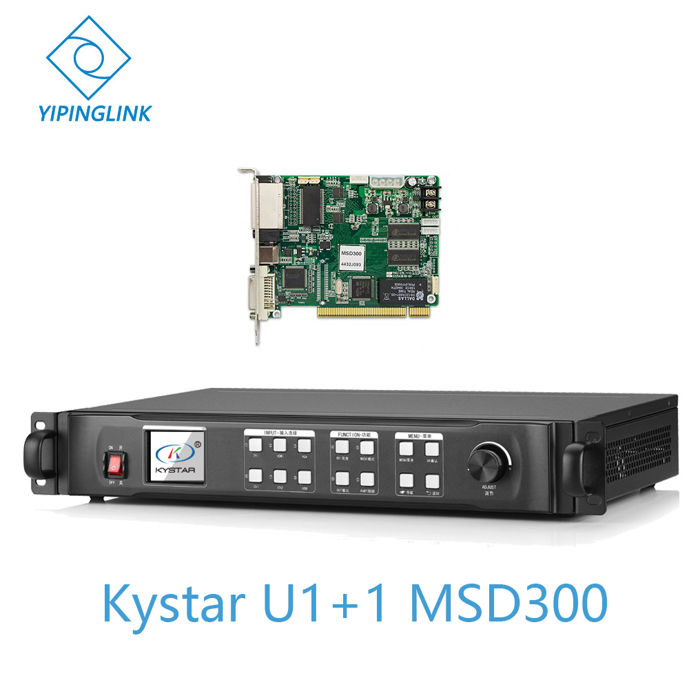Kystar KS600 video processor English version U1 with novastar MSD300 sending card included Circuits     - title=