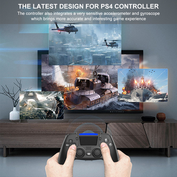Mando inalámbrico de 6 ejes con doble vibración para PS4, PS5,  6