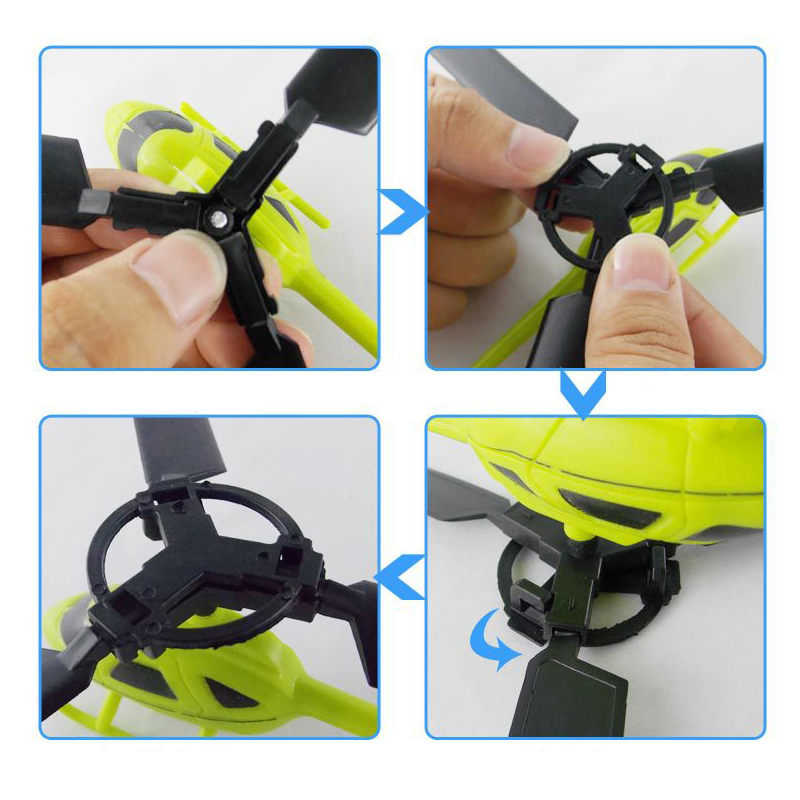Pull String Helicopter Outdoor Toy 5