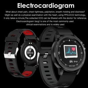 Image 3 - L8 Smart Watch Men IP68 Waterproof SmartWatch ECG Blood Pressure Heart Rate Sports Fitness Pk L5 L9
