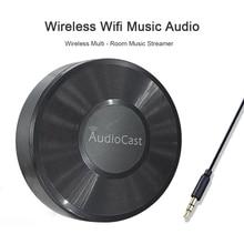 אלחוטי Wifi מוסיקה אודיו Streamer מקלט Audiocast M5 עבור DLNA Airplay מתאם אודיו מוסיקה רמקול רב Spotify חדר זרמי