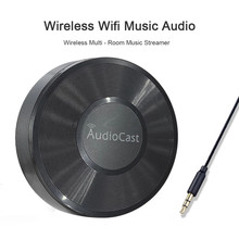 Wireless Wifi Music Audio Streamer Receiver Audiocast M5 For DLNA Airplay Adapter Audio Music Speaker Multi Spotify Room Streams