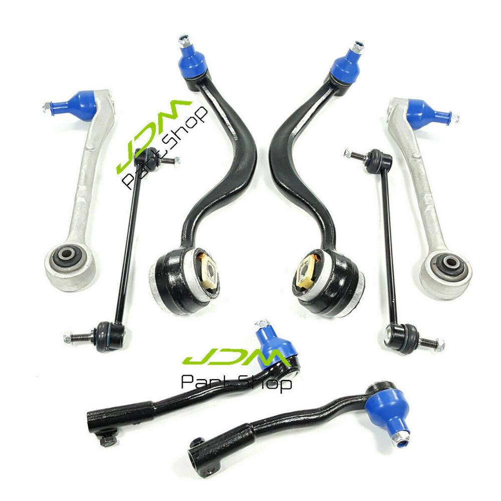 Fits 1995-2001 BMW E38 Control Arm Suspension and Steering 8pc Kit