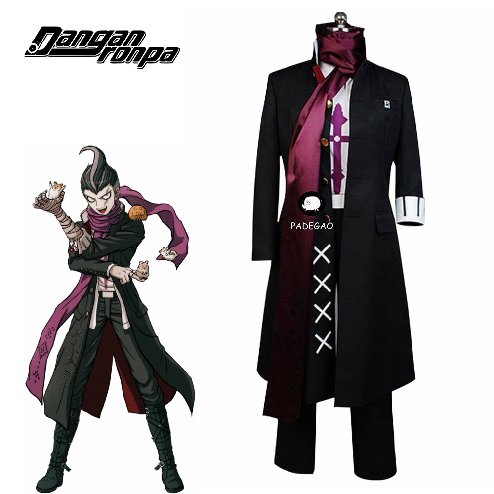 Super Dangan Ronpa 2 Danganronpa Gundam Tanaka Cosplay Costume Full Set Halloween Carnival Costume