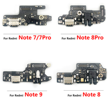 5PCS Replacement Copy USB Charging Port Connector Flex Cable With Mic Microphone For Xiaomi Redmi Note 5 5A 6 7 8 9 Pro 8T 9S