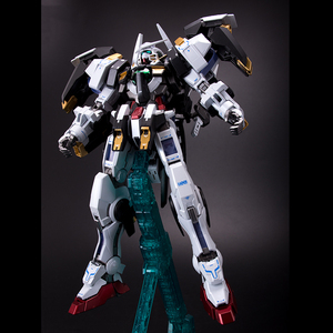 Image 4 - BANDAI MG 1/100 PB 00 GN 001/hs A01 Avalanche Exia GUNDAM Black and White Snow Color Action Figures Christmas Gift Toys
