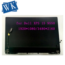 "Para Dell XPS 15, 9550, 9560, 3840x2160, 4K y 1920x1080, pantalla táctil de 15,6 "", pantalla LED, montaje completo de LCD"