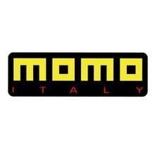 Momo logotipo decalque adesivo cor cheia cortado adesivo carro portátil jdm corrida itália