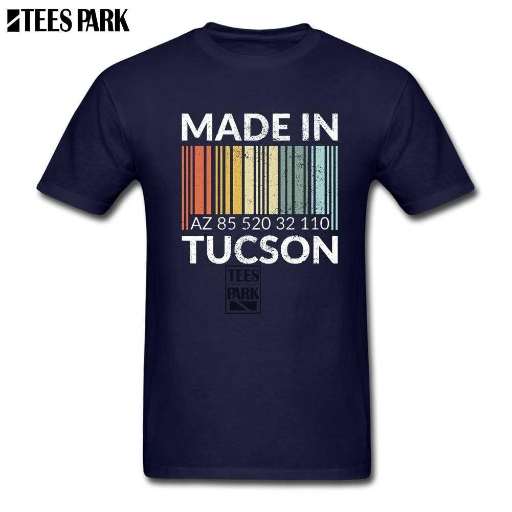 3XL Made in Tucson QR Codice Nuovo T Shirt Youth Slim Fit Magliette Estate Uomo Per Gli Uomini T shirt Design 2019 Giorno di Estate Modo Caldo di Vendita