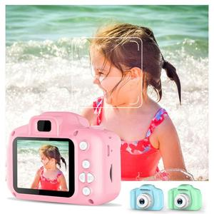 2 Inch HD Screen Chargable Digital Mini Camera Kids Cartoon Cute Camera Toys Outdoor Photography Props for Child Birthday Gift(China)