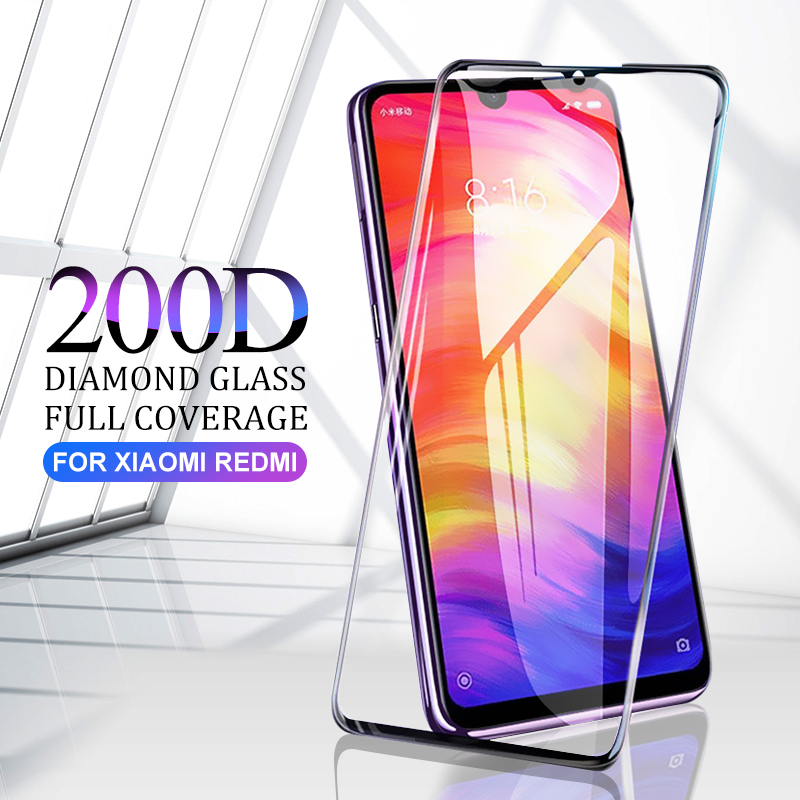 200D Tempered Glass On For Xiaomi Redmi 5 6 6A Screen Protector Note 5 6 7 8 Pro Protective Glass For Xiaomi Mi 9 8 Lite Glass