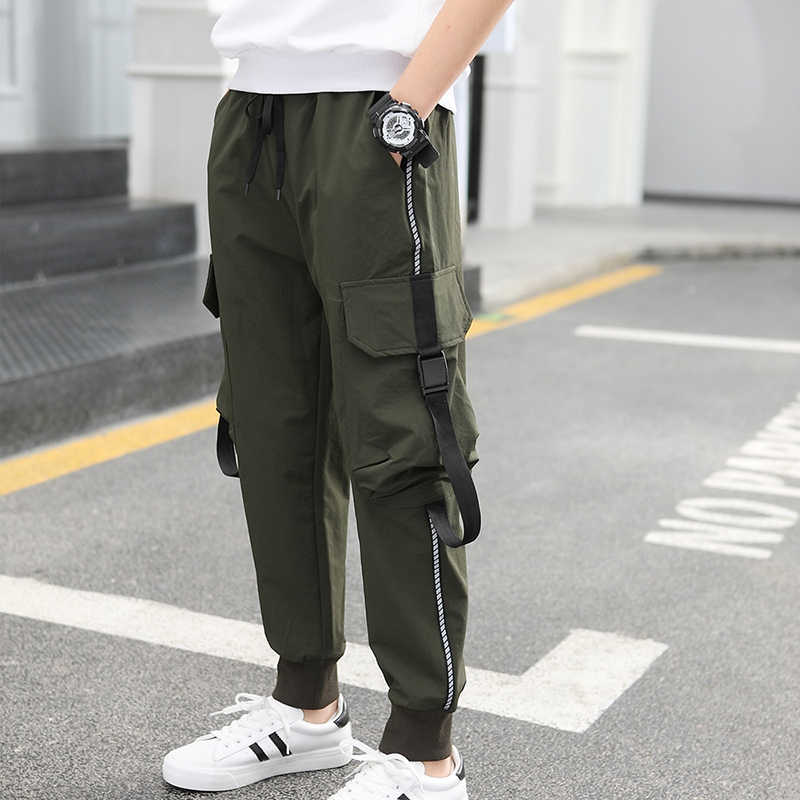 Big Boys Pants Trousers Sport Joggers Casual Cotton Teenage Sweatpants For Boy Kids Cargo Toddler School Clothes 8 9 10 12 Years Pants Aliexpress