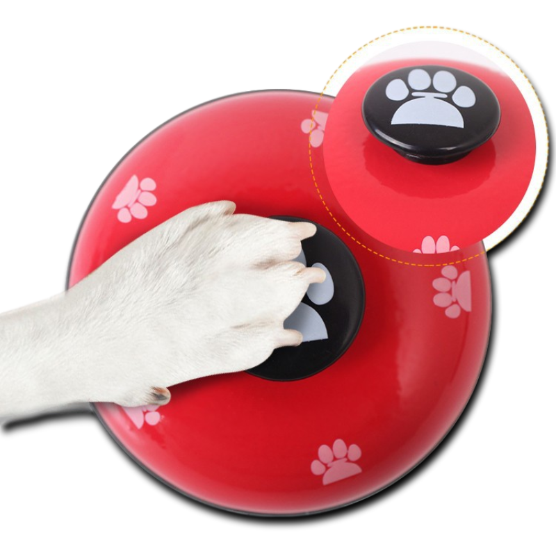 Pet Training Supplies Dog Training Bells Cat Dog Toys Colorful Stainless Dining Bell Puppy  Training Equipment Device-1