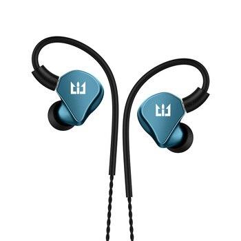 Nouveau TRI I4 1BA + 1DD hybride dans loreille écouteur sur mesure connu BA pilote HIFI basse écouteur DJ métal écouteur avec câble MMCX