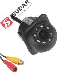 Isudar tylna kamera 8 LED HD z noktowizorem 170 stopni wodoodporna kamera cofania kolorowy obraz