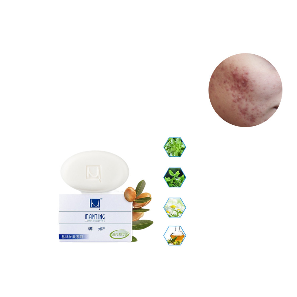 Non Fluorescent Agent Plant Extract Essence Whitening Cleansing Soap To Remove Blackhead Freckle For Acne Acarid Functional Soap