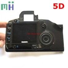 Z drugiej strony dla Canon 5D tylna pokrywa tylna obudowa Shell z ekranem LCD przycisk wyświetlacza Flex kabel do aparatu wymiana części zamiennych