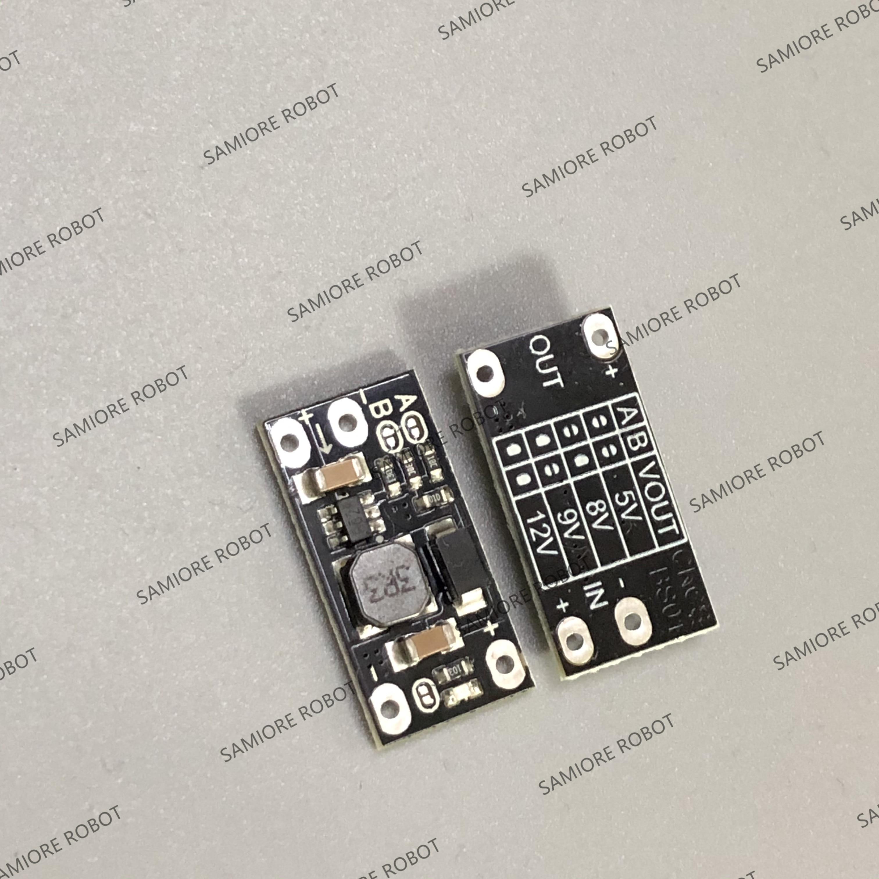 10 шт. новейший многофункциональный мини Повышающий Модуль повышающая плата 5 В/8 в/9 В/12 В 1.5A светодиодный индикатор Diy Электронный модуль нап...