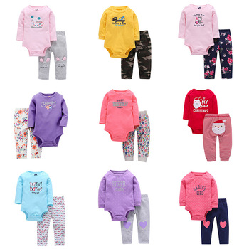 Spring Newborn Baby Girl Clothes suits autumn long sleeve infant Clothing for boys and girls cartoon Newborn Set 6m-24m outfits emotion moms autumn newborn clothing fashion cotton infant underwear baby boys girls suits set clothes for 0 3m 20pcs set