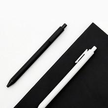 Xiaomi Mijia KACO гелевая ручка 0,5 мм черный белый цвет заправка чернил ABS пластиковая ручка длина 400 мм плавно пишите для офиса