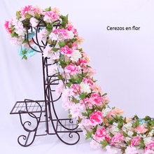 Decoration Fake Flower Rattan Home Sakura Living Room Leisure Bar