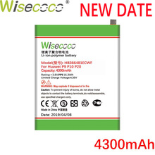 Wisecoco HB366481ECWF 4300mAh New Battery For Huawei P9 P10 P20 Lite G9 Honor 5C 8 High quality Phone battery Replacement